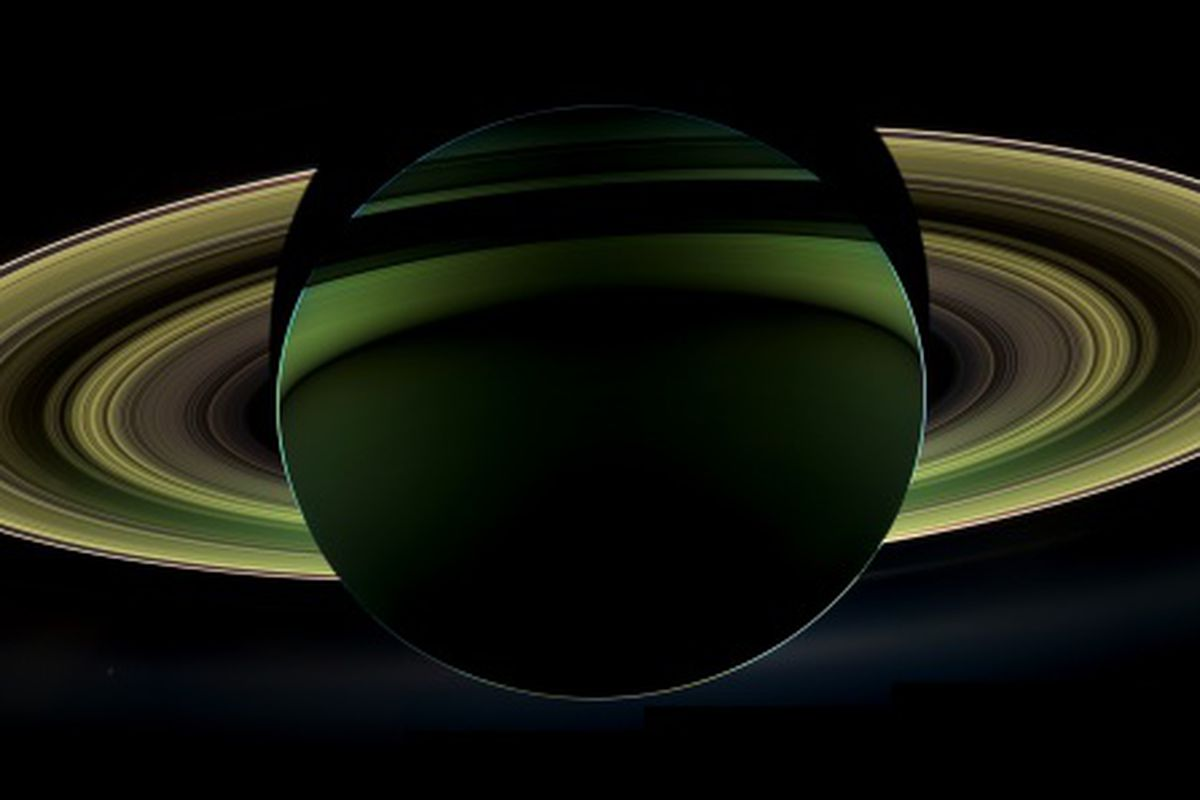 The Dark Side of Saturn