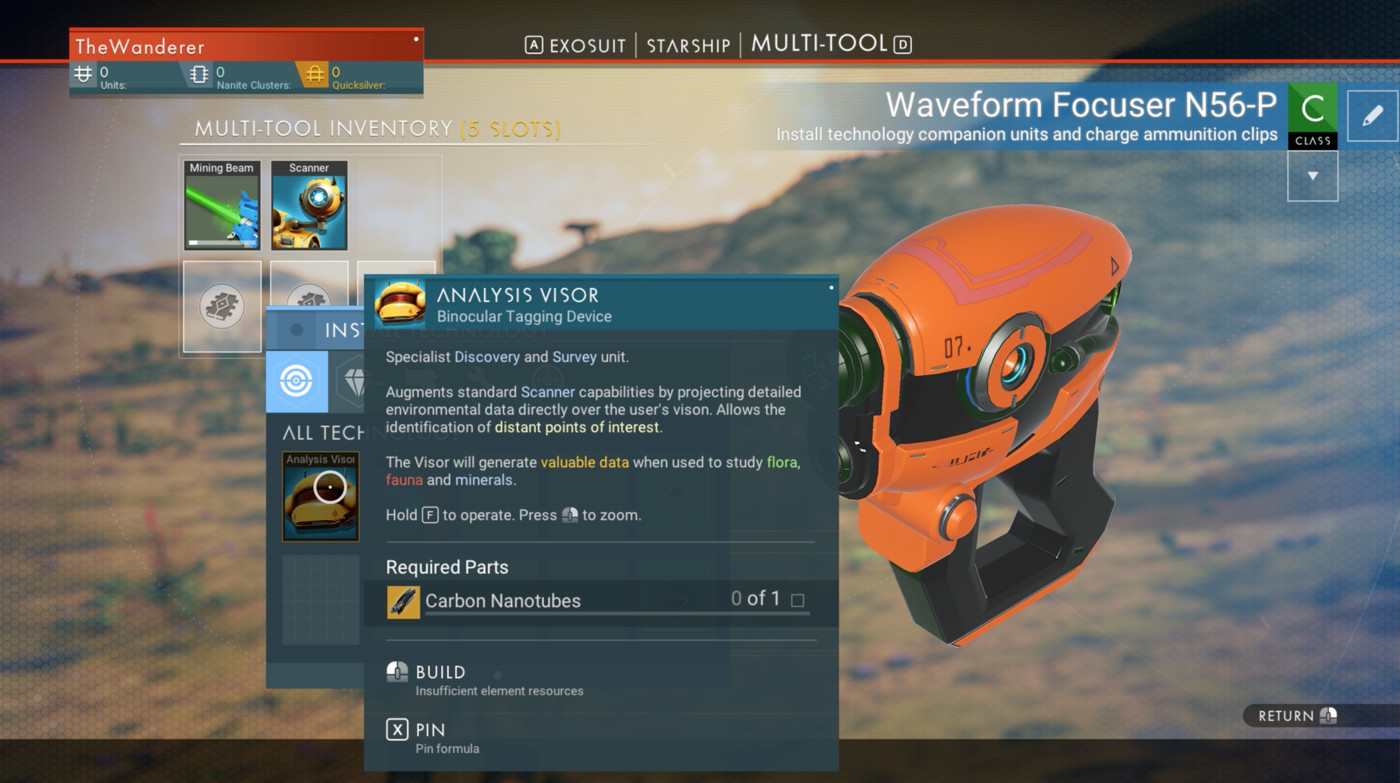 No Man's Sky turned its weird science into procedural