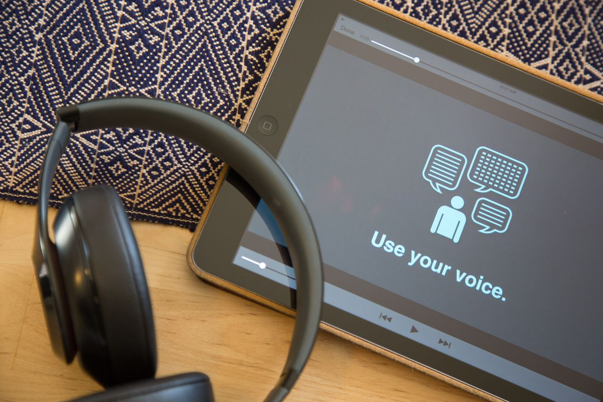 Adobe Voice is a free app for iPad that lets you easily create short video animations.