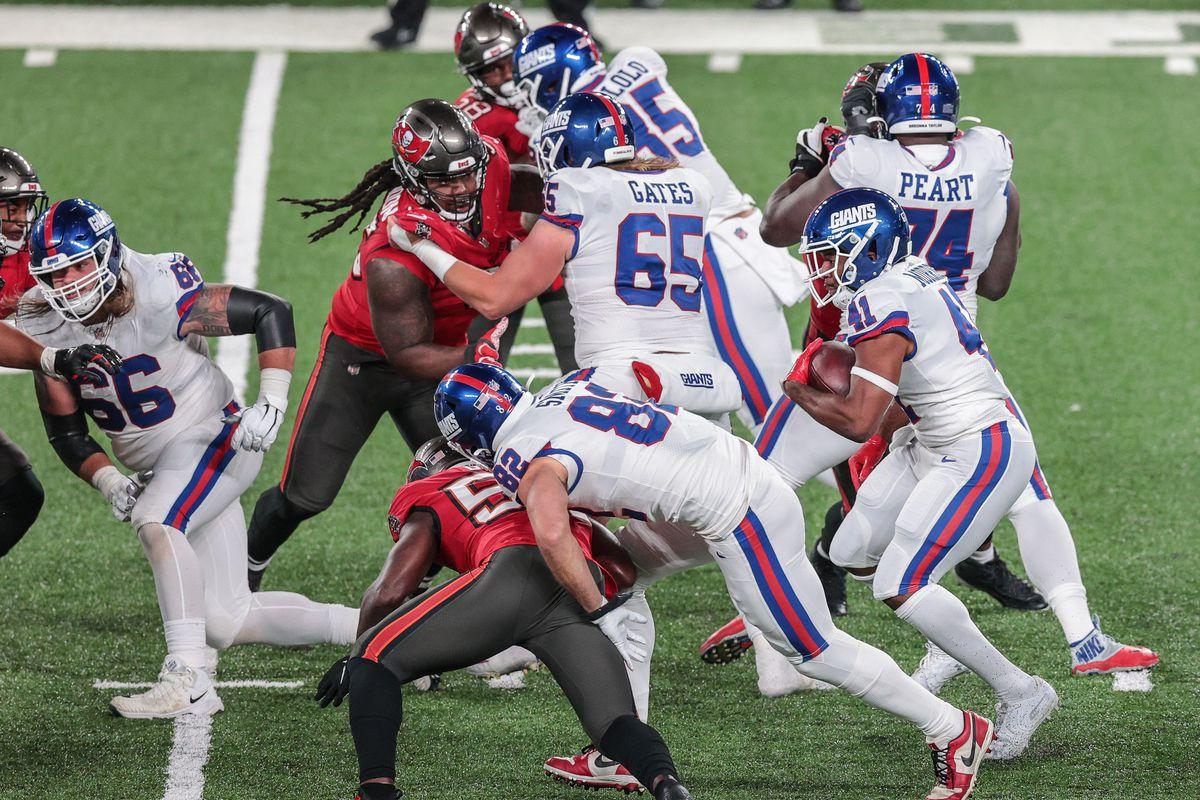 NFL: Tampa Bay Buccaneers at New York Giants