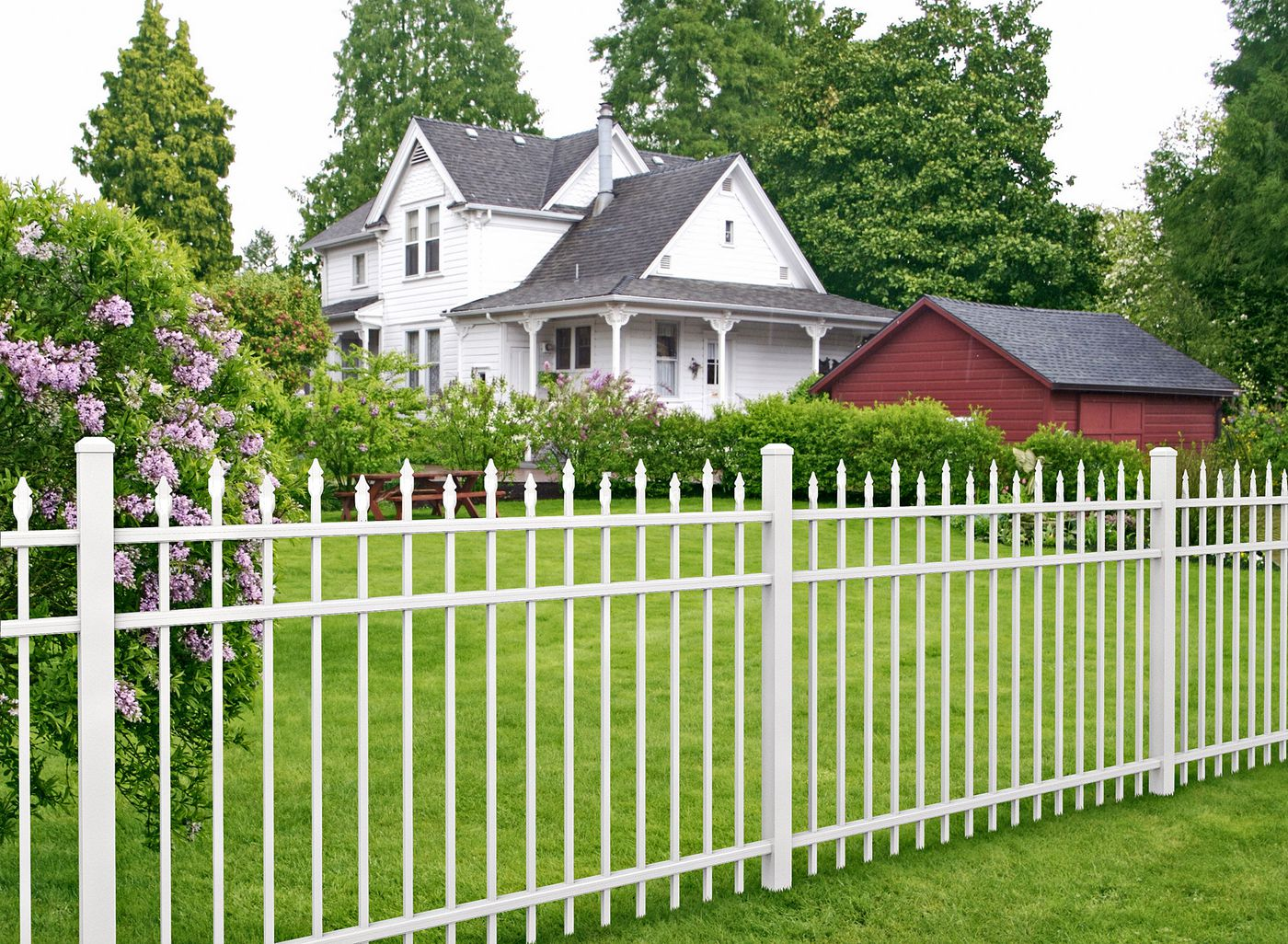 All About Metal Fences This Old House
