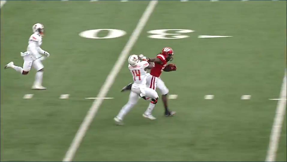 MGII 50-yard TD Stiff arm