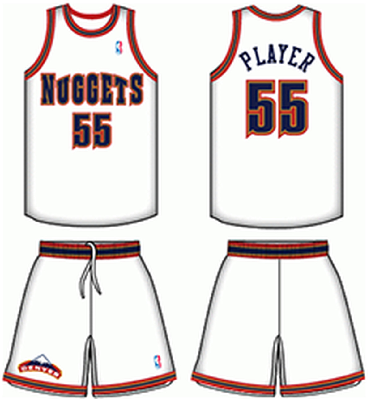 Nuggets Jersey Rainbow: Denver Nuggets: Who Wore It Best?