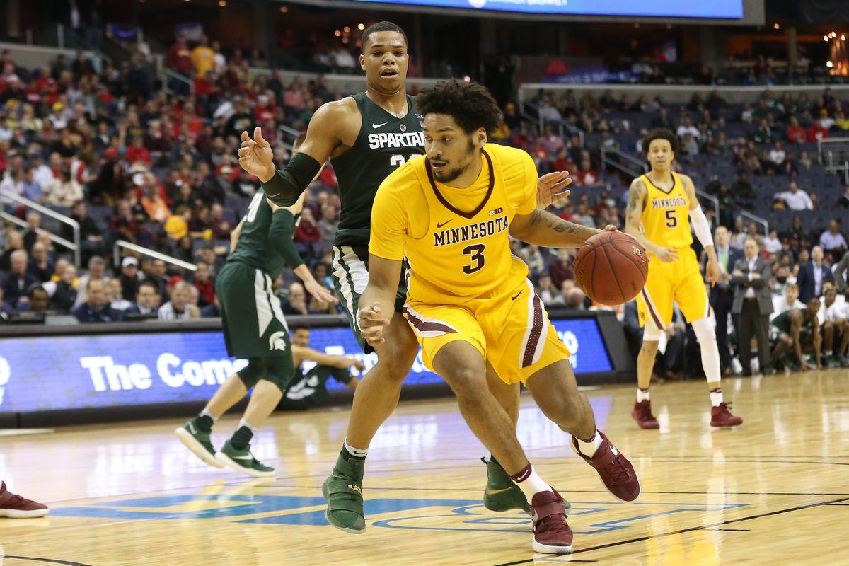 NCAA Basketball: Big Ten Tournament-Michigan State vs Minnesota
