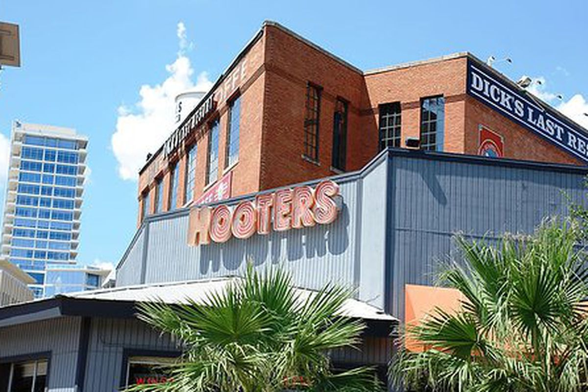 Hooters Downtown Dallas.