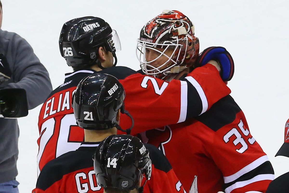 Hugs for the best player in January.  No, it wasn't Elias or Gomez.