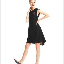 """<a href=""""http://www1.macys.com/campaign/social?campaign_id=202&channel_id=1&cm_sp=fashionstar-_-episode10-_-homepagelink&bundle_entryPath=/karaGallery"""">Fashion Star Dress, Sleeveless Lauren Solid A-Line</a>, $79 at Macy's"""