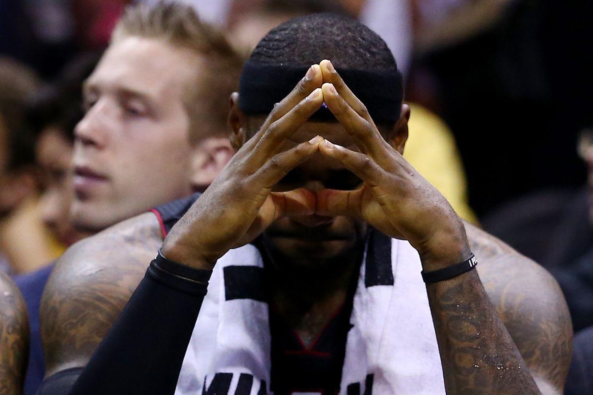 Think about Houston, LeBron