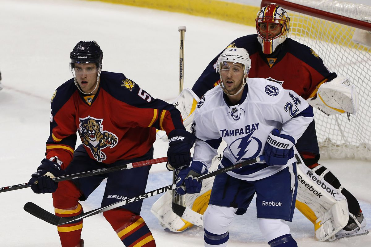 499a5c3a The potential for a rare event; Tampa Bay Lightning at Florida ...