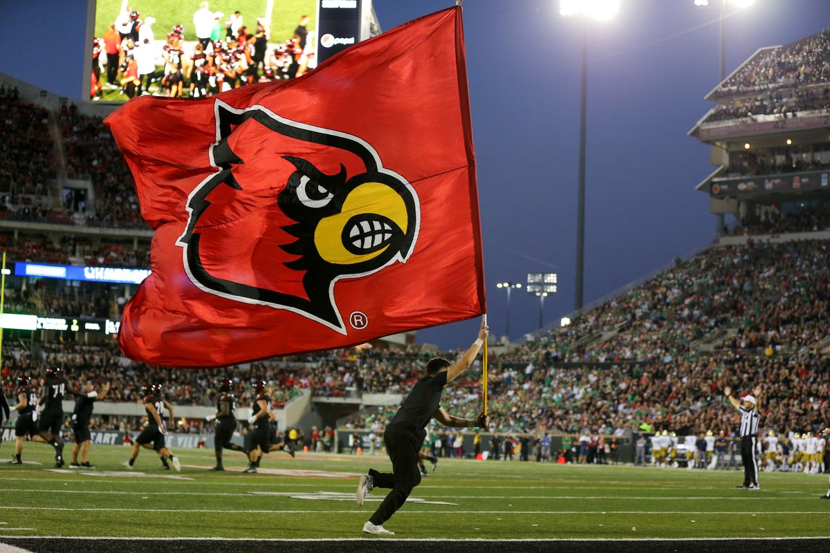 Game Day Louisville Vs Virginia Tech Card Chronicle