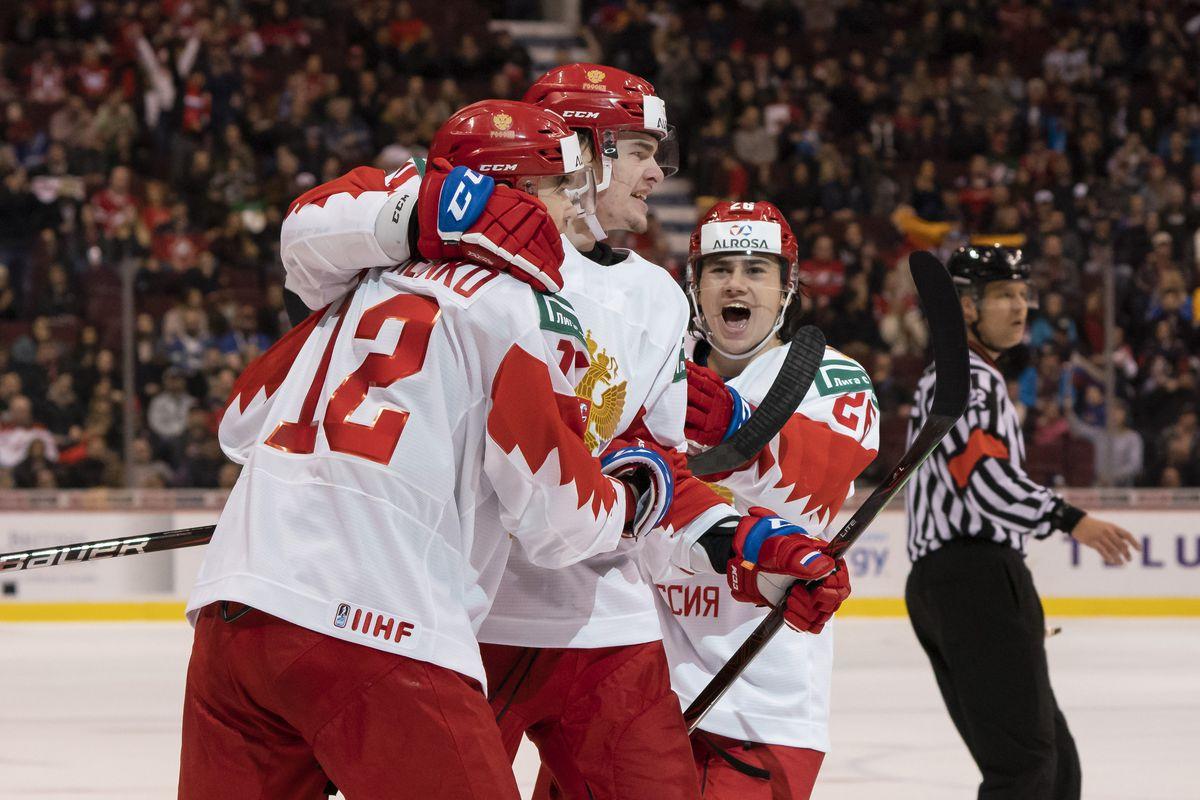2019 World Juniors Qf4 Russia Vs Slovakia Lineups Start Time