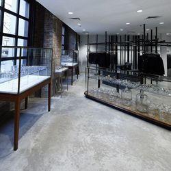 Jewelry on the ground floor