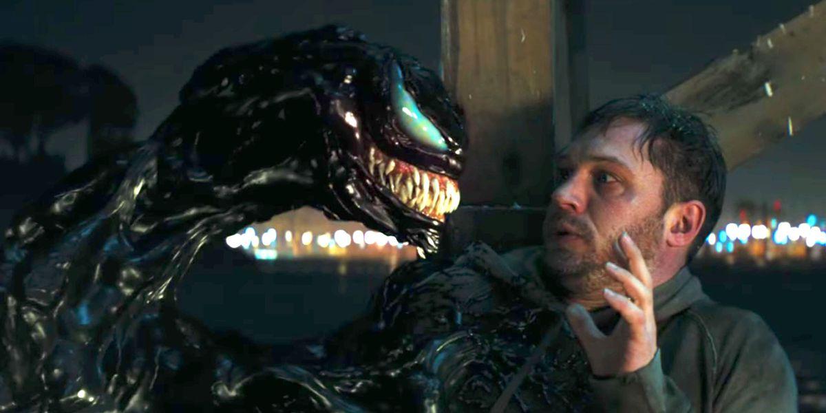 """Tom Hardy in """"Venom"""" (2018)"""