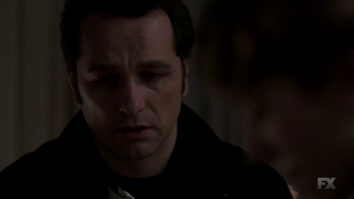 Philip (Matthew Rhys) reveals the truth about himself on The Americans.