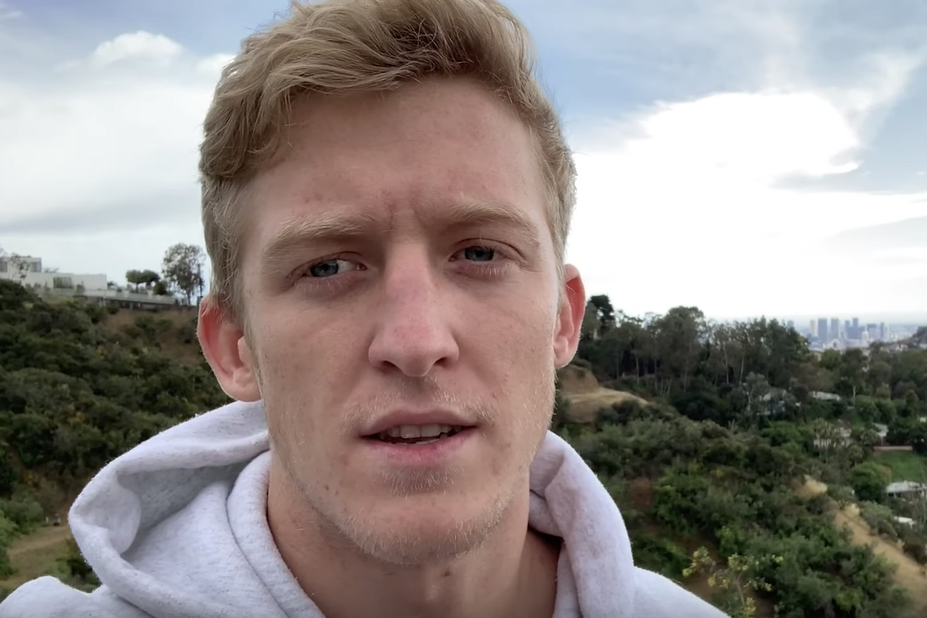 "Turner ""Tfue"" Tenney in his video addressing the lawsuit."