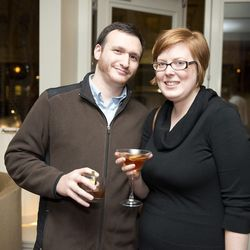 Rachel Goldenberg of Estes PR and husband