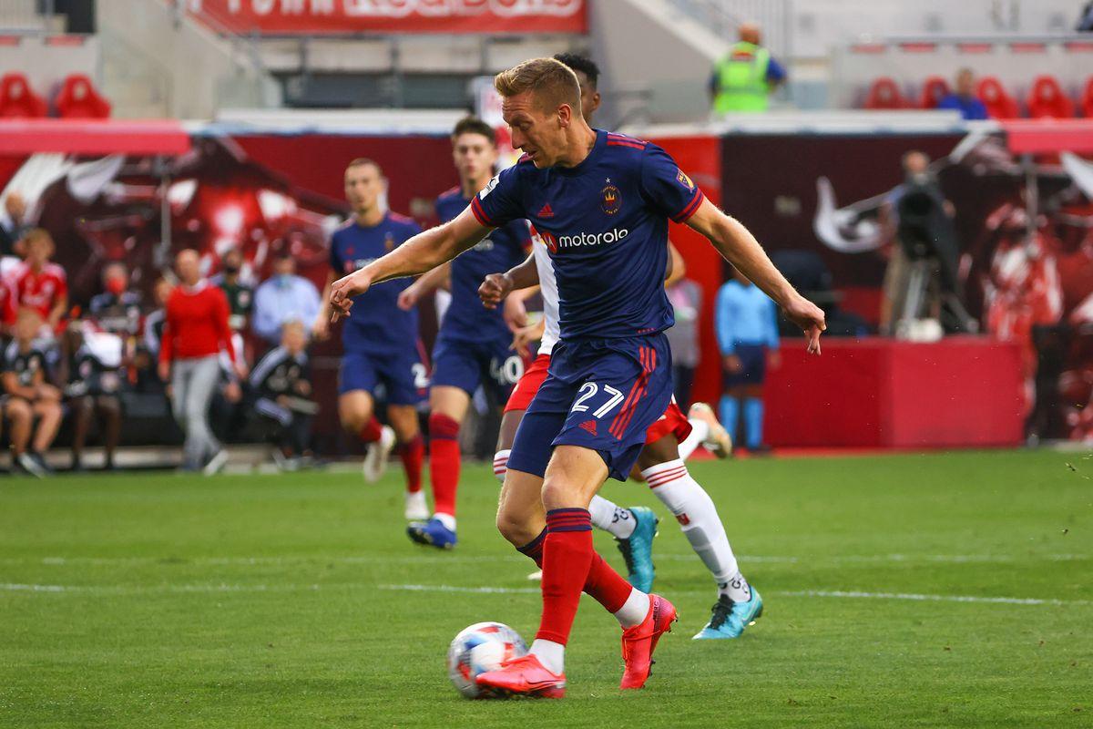 SOCCER: AUG 28 MLS - Chicago Fire FC at New York Red Bulls