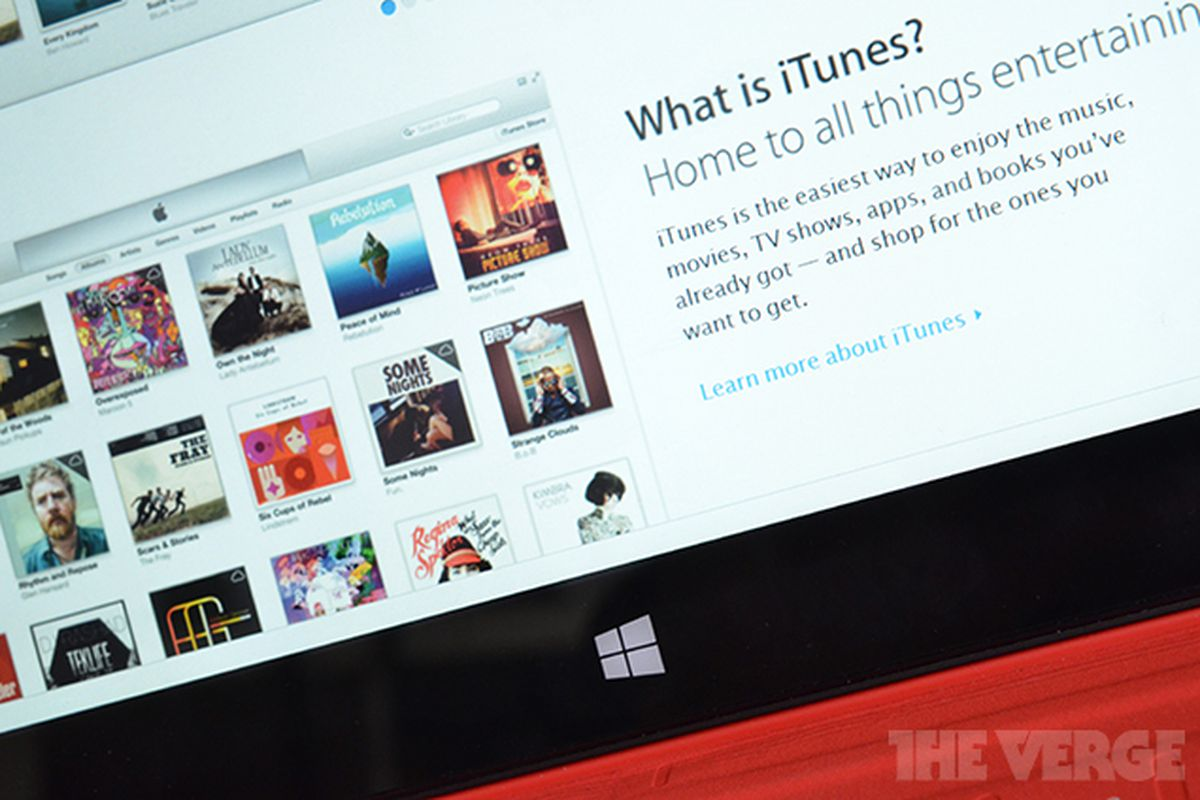 Microsoft wants an iTunes app for Windows 8, but it's not