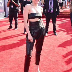 """General Miley Cyrus consensus was, """"Oh, leather bandeau and trousers? Tame."""""""
