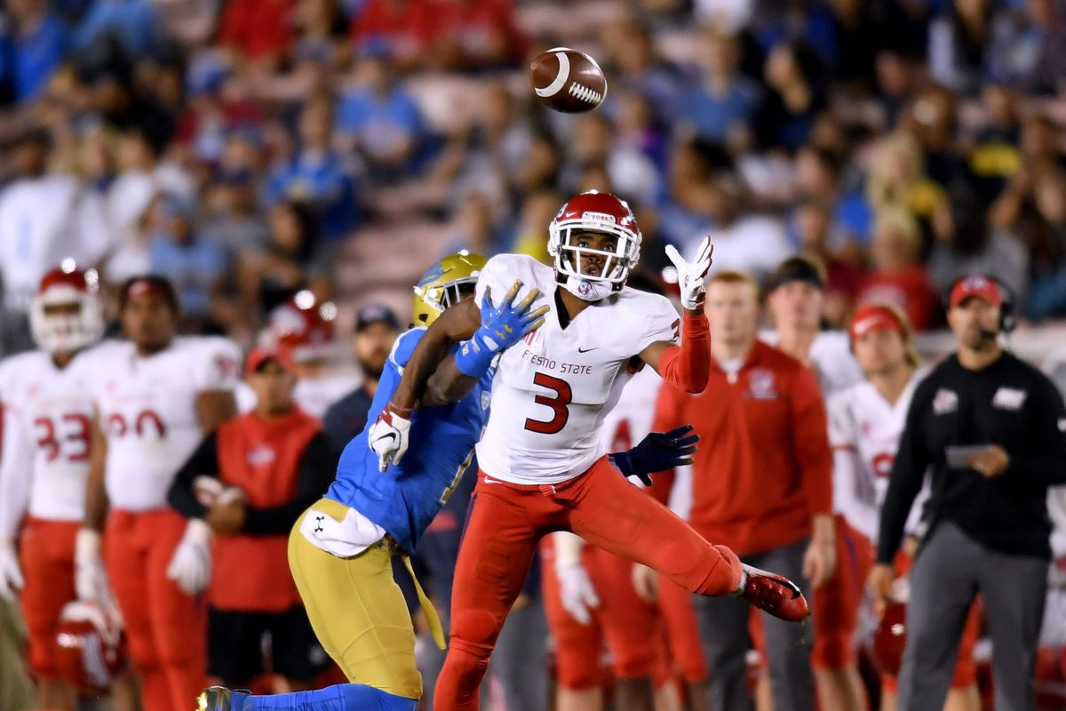 the latest 573d2 378c2 49ers work out Fresno State wide receiver KeeSean Johnson ...