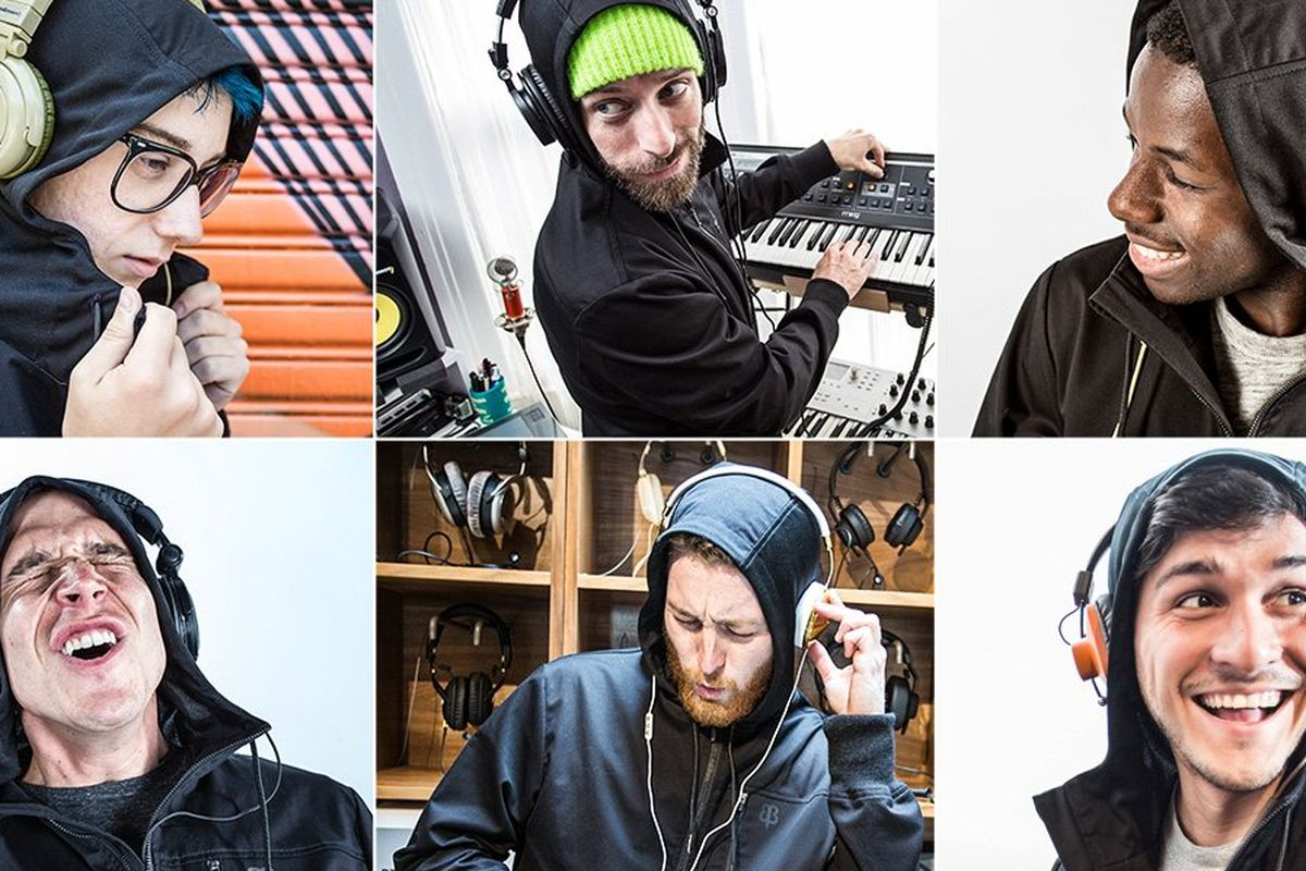 """Image via <a href=""""http://www.betabrand.com/think-tank/crowdfunding/mens-audio-engineer-hoodie.html"""">Betabrand Think Tank</a>"""