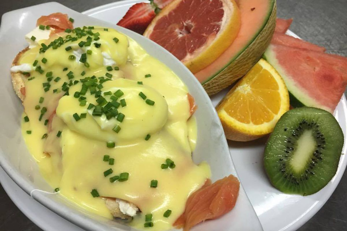 That's a lot of hollandaise