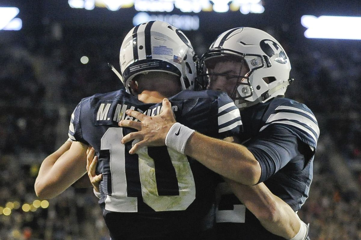 BYU and Utah will play Saturday in an impromptu Holy War matchup.