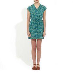 """<a href= """"http://www.stevenalan.com/Amira-Dress/842776075451,default,pd.html#cgid=sample-sale-womens-dresses&start=0&hitcount=105"""">Steven Alan Amira Dress</a>, was $298 now $129"""
