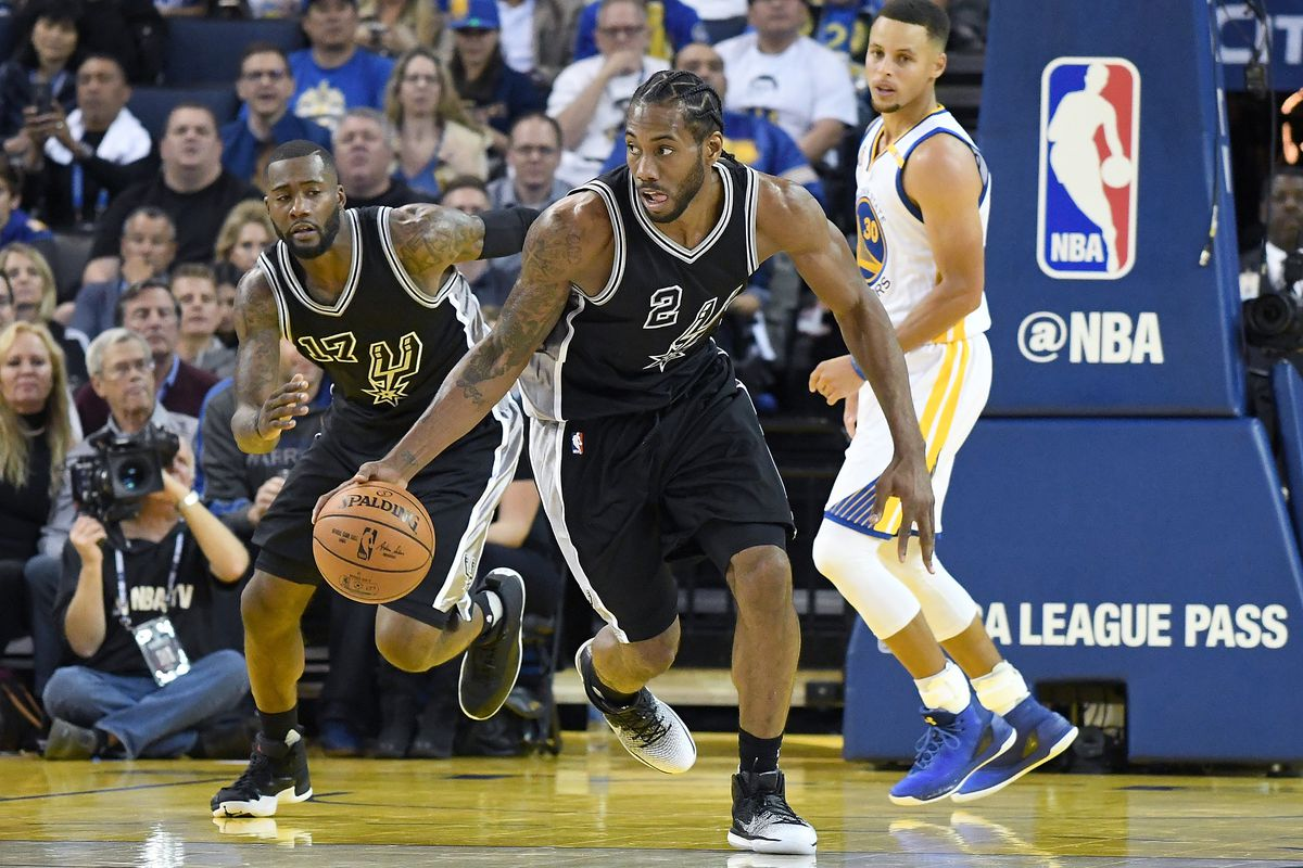 7af6083238b1 NBA scores 2016  The Spurs ruin Kevin Durant s debut by dominating Warriors