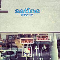 """Image via @satineboutique/<a href=""""http://instagram.com/p/i9Uxo-t0vO/"""">Instagram</a>"""