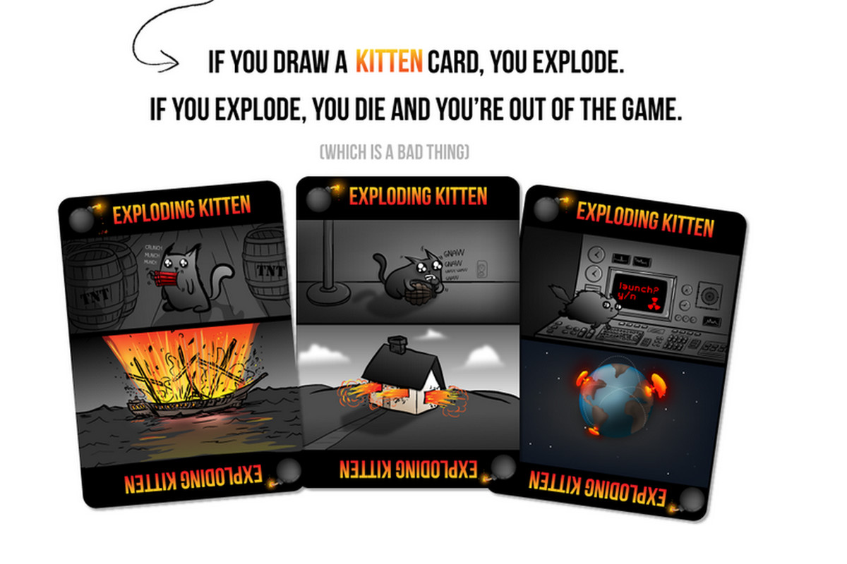 No one is getting rich from Exploding Kittens' $8 7 million