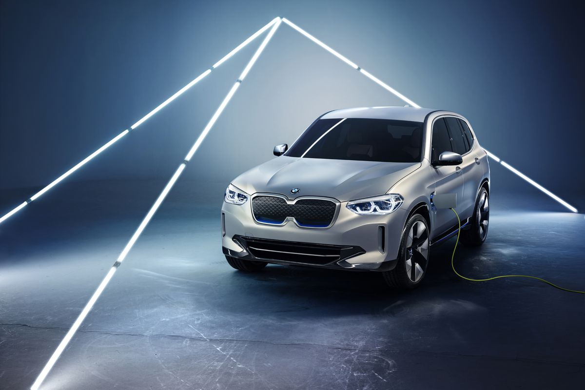 Bmw S Ix3 Is The Company S First Normal Looking All Electric Car