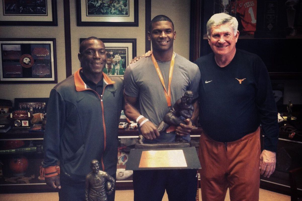Kd Cannon on a spring visit to Texas