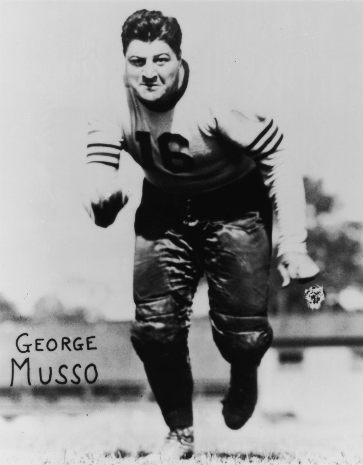 George Musso Of The Chicago Bears