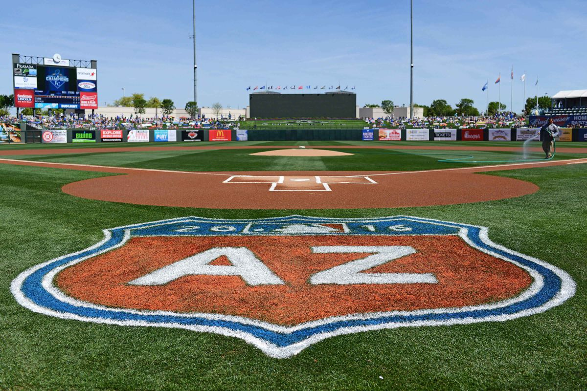 MLB: Spring Training-Chicago Cubs at Kansas City Royals