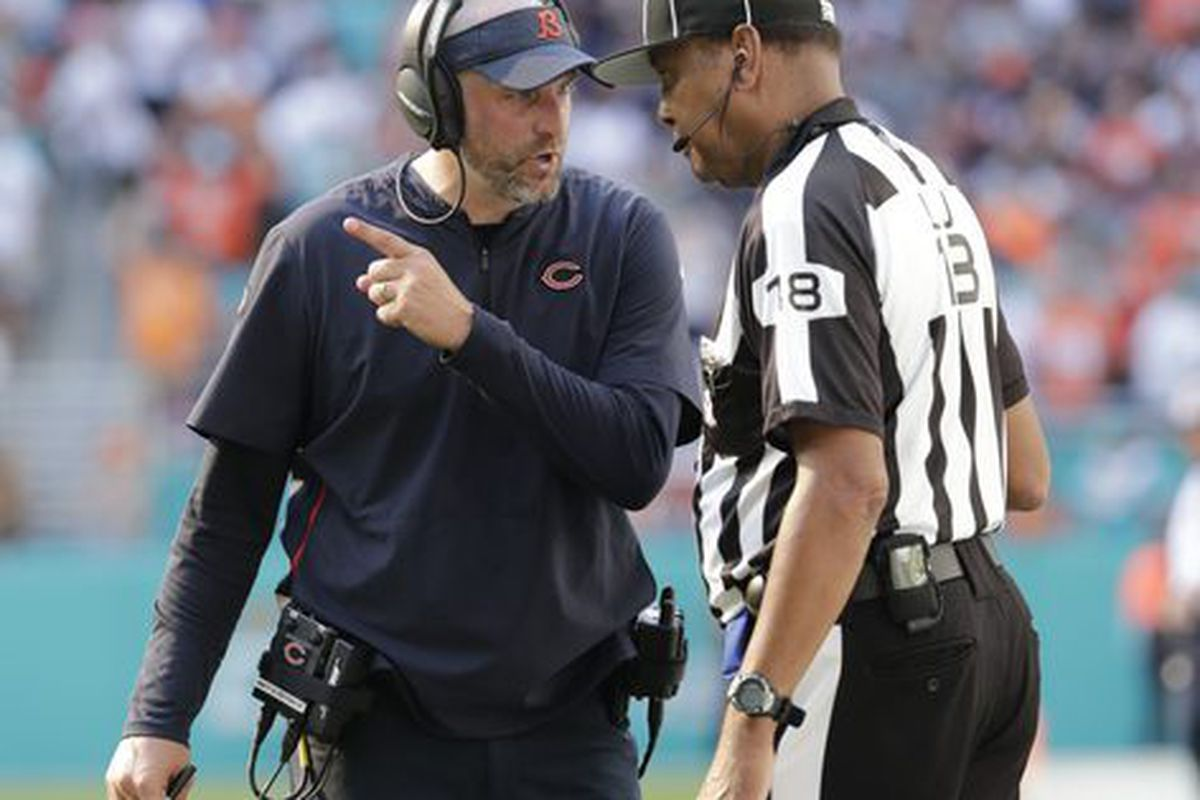 Matt Nagy defends setting up failed 53-yard FG try in wild