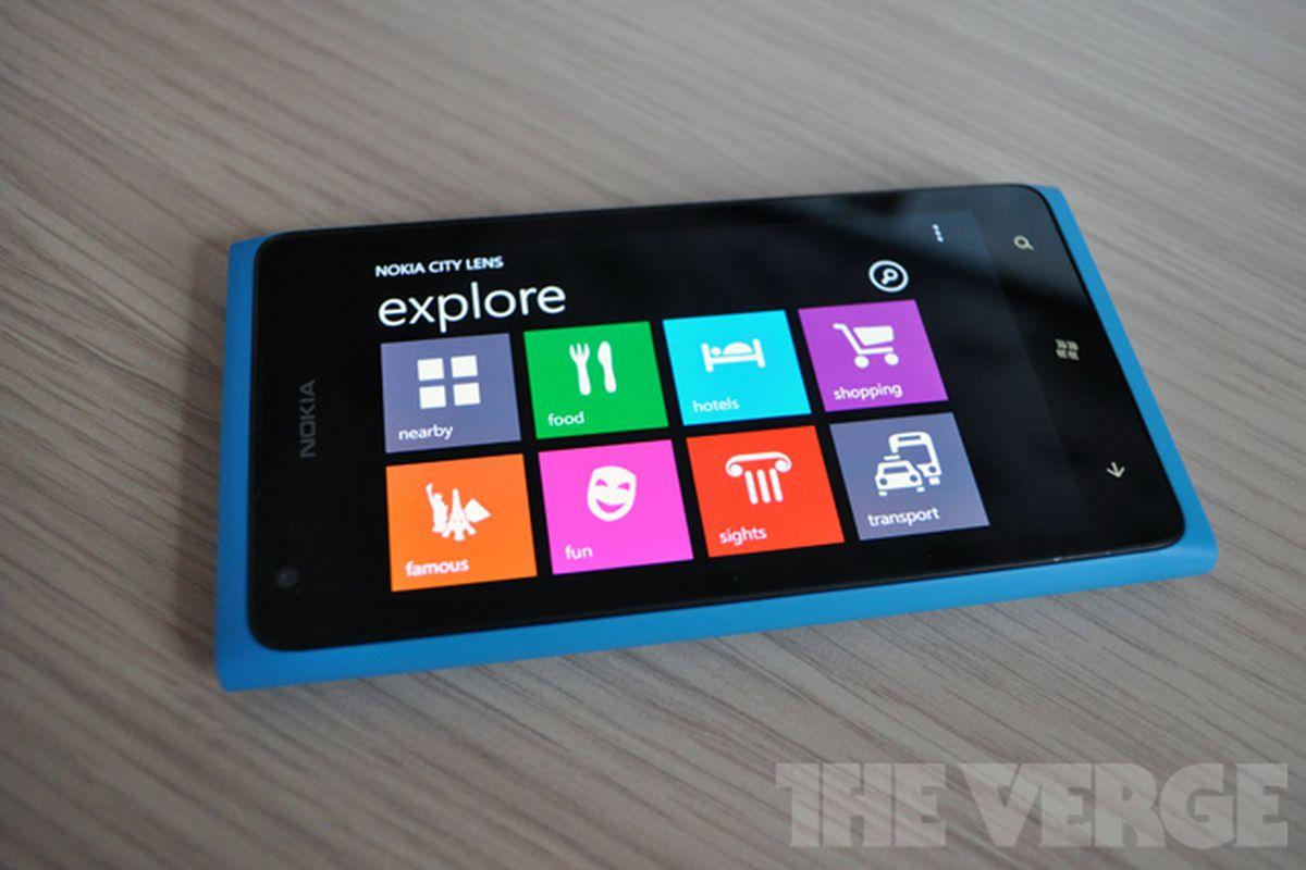 Nokia City Lens Windows Phone