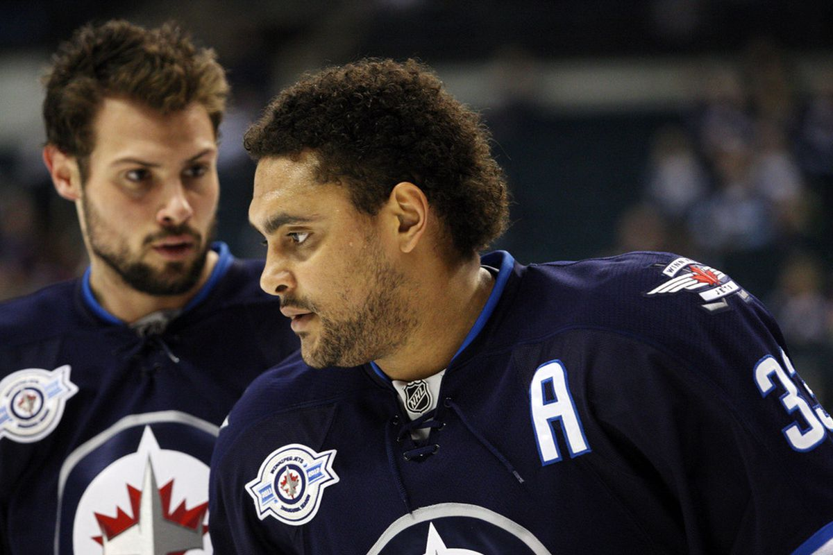 Dustin Byfuglien and Zach Bogosian will both be back in the lineup soon.  Hurray!