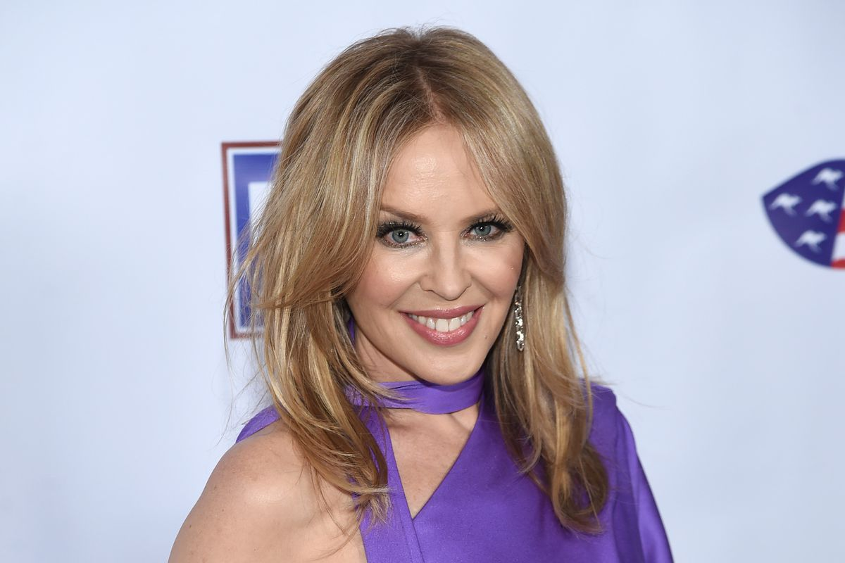 Kylie Minogue attends the 2020 AAA Arts Awards at Skylight Modern in January in New York City.