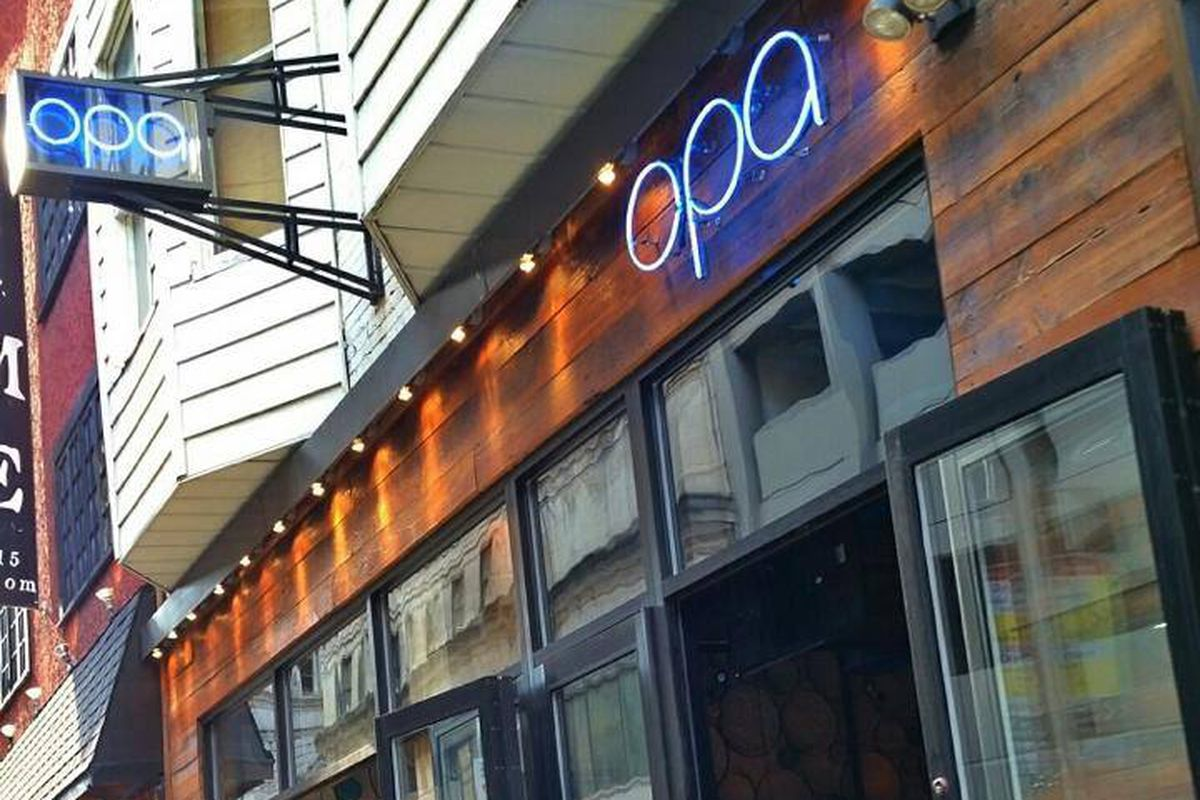 Opa hosts a special two-part event
