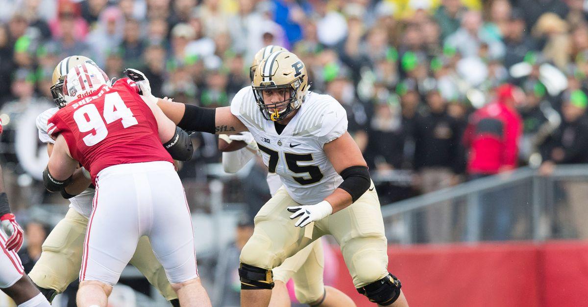 Purdue Football Draft Pick 6 Hammer And Rails