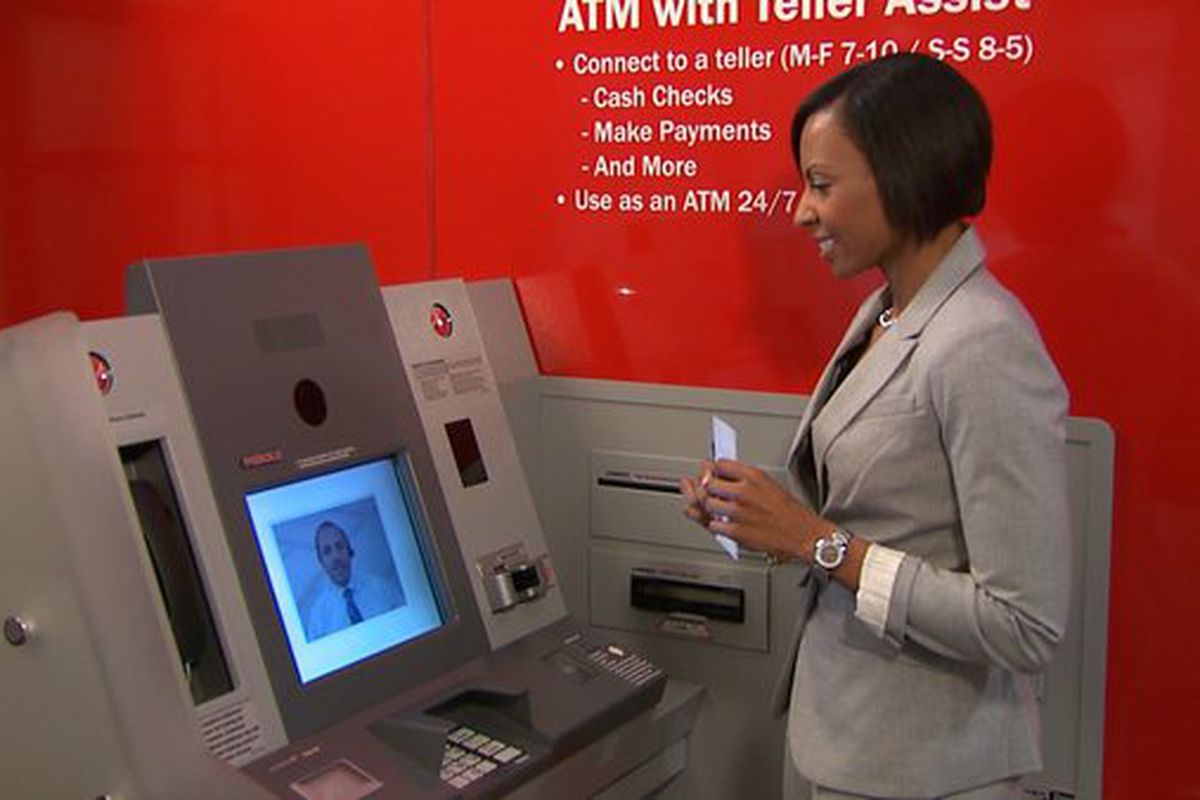 Bank Of America Launches Atms With Teller Assist Brings Video Chat