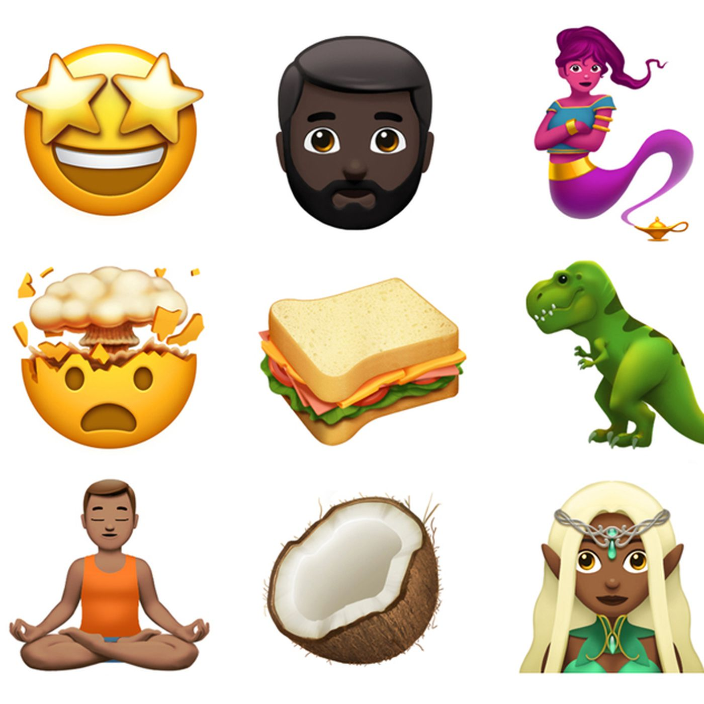 Apple shows off some of the new emoji coming to iOS and
