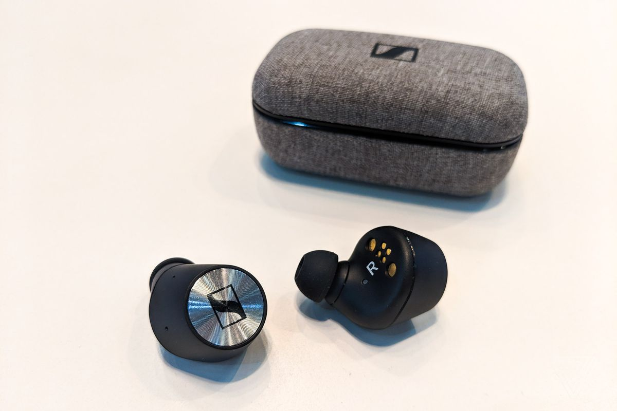 9eb3943778d Sennheiser plans to walk users through everything with an accompanying app,  which isn't yet ready to demo.