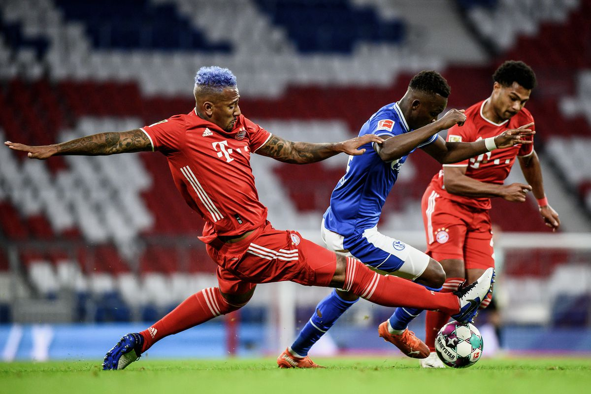 FC Bayern München v FC Schalke 04 - Bundesliga for DFL