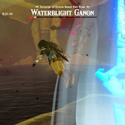 Breath of the Wild Waterblight Ganon