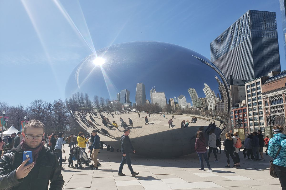 The Cloud Gate of Chicago