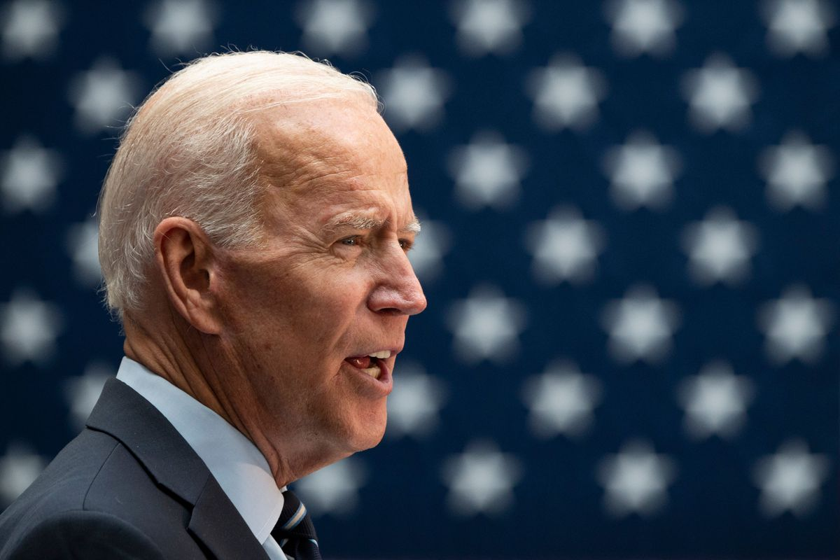 Former Vice President Joe Biden speaks about his foreign policy vision for America on July 11, 2019.