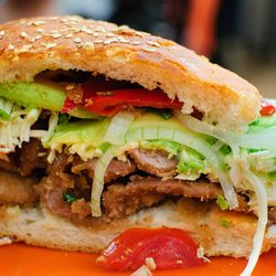 Cemitas Mexican sandwich, $8