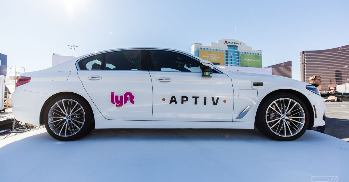 Lyft and Aptiv extend their self-driving taxi pilot in Las